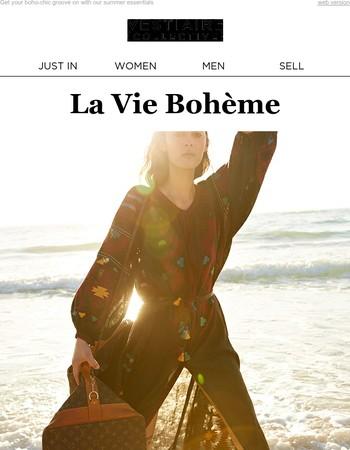 La Vie Bohème | Float through summer in light, romantic clothing