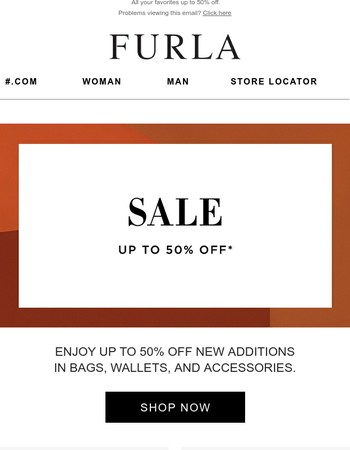 NEW ADDITIONS | Enjoy up to 50% off