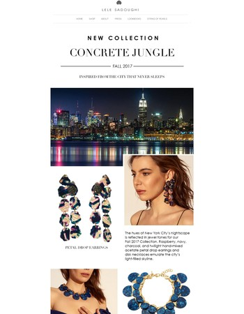 New Collection Available!Concrete Jungle