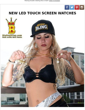 Hot Touch Screen LED Watches - SAVE