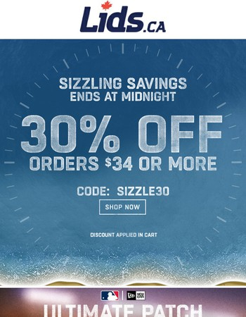 One Day Only - 30% Off!