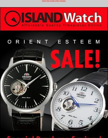 Orient Esteem SALE time to save