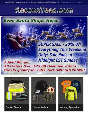Christmas in July Sale 20% off Site Wide Ends Sunday Midnight
