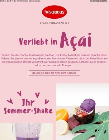 Açaí – die Farbe des Sommers!
