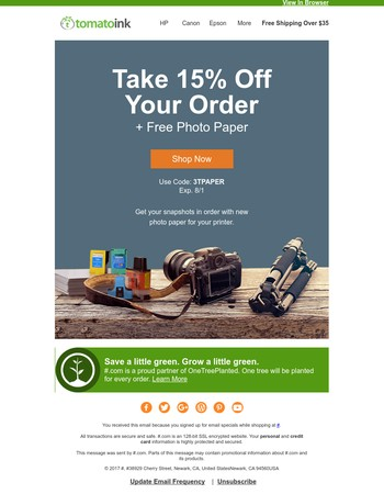 Save 15%: Preserve Your Summer in Color