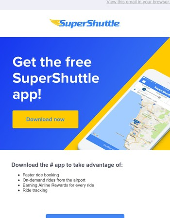 Still Haven't Tried the SuperShuttle App?