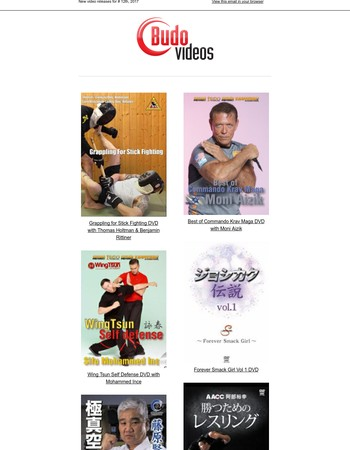 New DVDs this week including, Krav Maga, Stick Fighting, Karate and more!