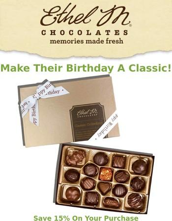 Make their Birthday Classic!