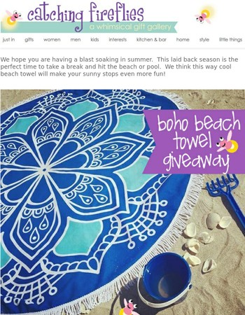 Beach Day Giveaway + $5 Friday