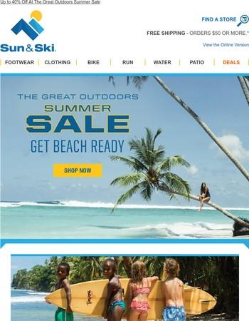 Go To The Beach - All Swimwear 30% Off