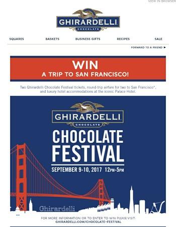 Win A Trip To San Francisco!