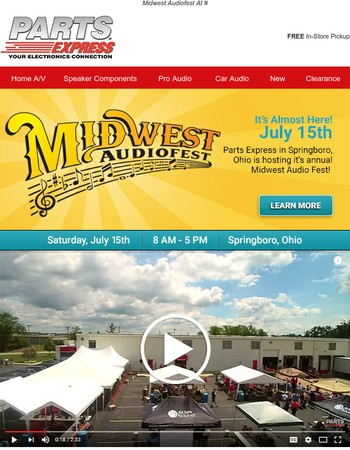 Join Us this Saturday for Midwest Audiofest