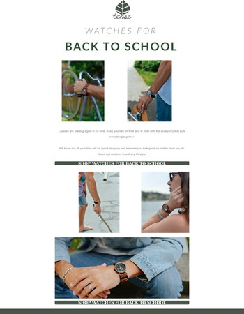Watches For Back to School