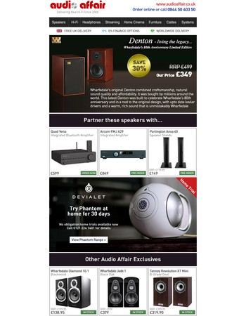 New exclusive hi-fi offers, Linn's great exchange, plus Tannoy on demo