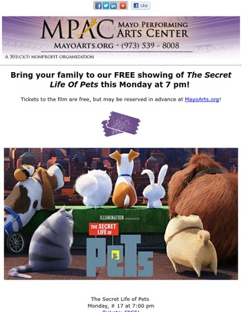 Free Movie Monday: The Secret Life Of Pets