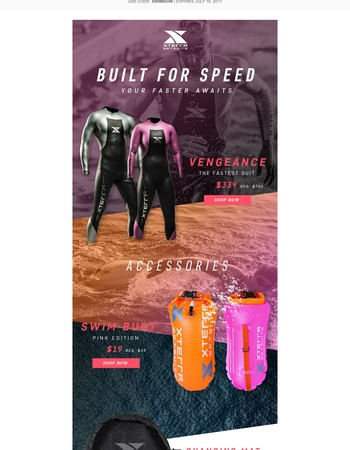BUILT FOR SPEED - THE FASTEST SUITS ARE BACK IN STOCK