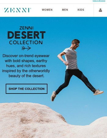 Explore the New Desert Collection