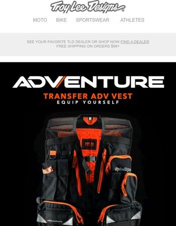 Every Adventure Needs a Transfer Vest!