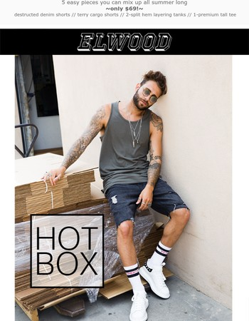 Hot Box20 = 5 summer essentials for$69...that's fire