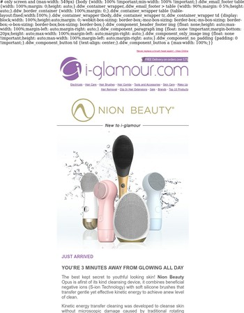 NEW NION BEAUTY Facial Cleansing Brushes