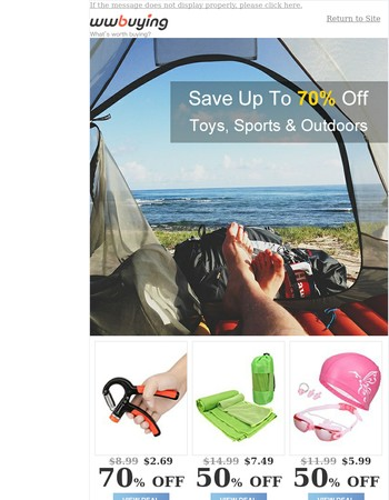 Save on Excitement: Spinners, Sports& More
