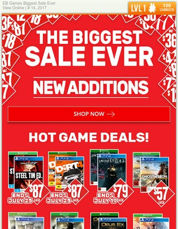 New Additions to the Biggest Sale Ever