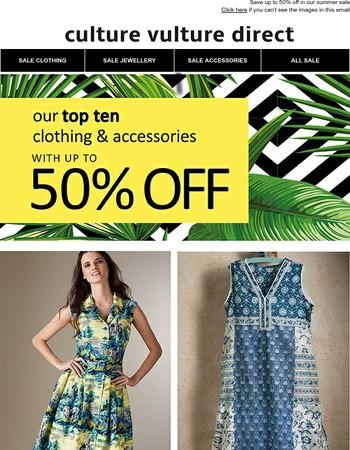 Sensational savings on your summer wardrobe