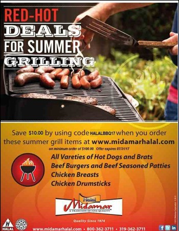 Sizzling Summer Specials from Midamar - See coupon code.