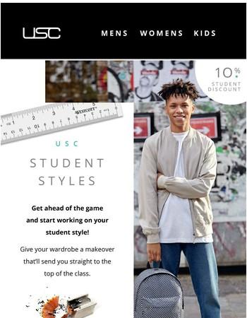 Student Style Essentials.