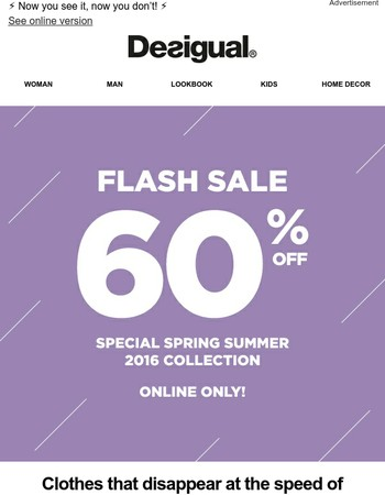 60% discount, 3 days only!