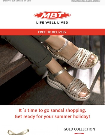 It´s time to go Sandal Shopping!