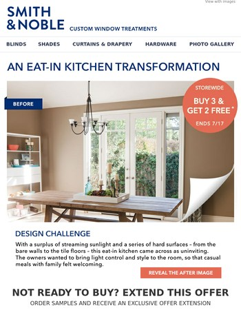 Before & After: Kitchen Transformation - Buy 3 Get 2 Free This Weekend!