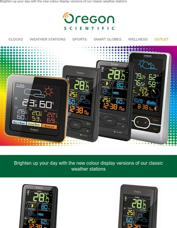 Introducing New Colour Screen Weather Stations