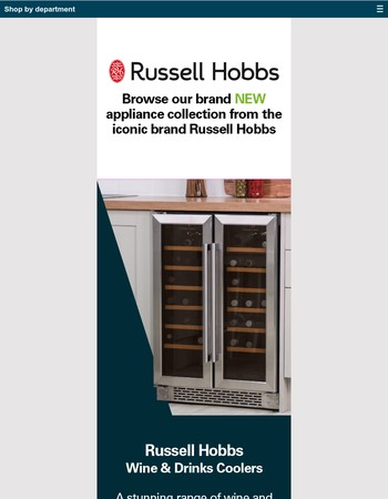 NEW: Russell Hobbs electricals