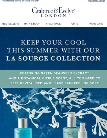 Revive and refresh with La Source | FREE gift inside