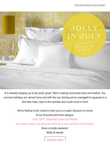 An Offer To Make You Jolly This July!