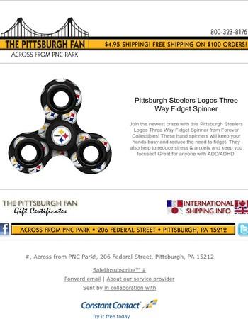 Steelers Logo Spinner