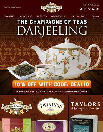 The Champagne of Teas!