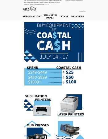 Coastal Business Supplies Newsletter