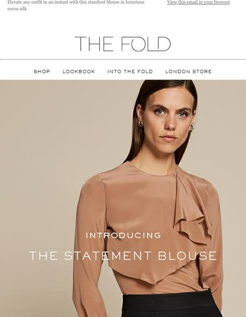 New In: The Statement Blouse
