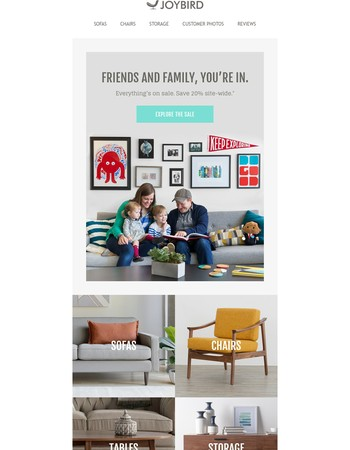 Get the friends and family discount