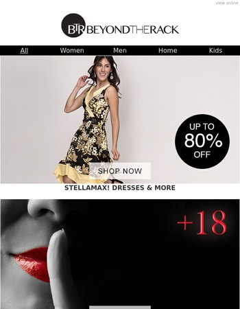Update Your Wardrobe With Stellamax Dresses, Bold & Beautiful Shirts For Him, Designer Tshirts BLOWOUT + Fendi handbags, Inverted Umbrellas, Adult Toys & More!