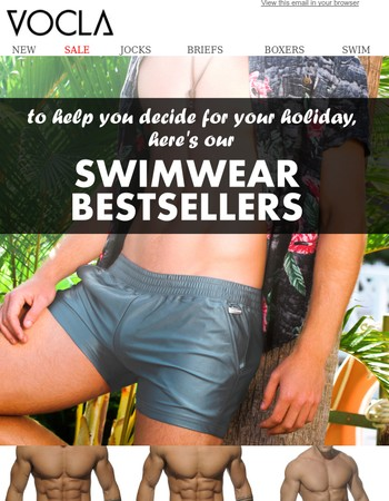 Be Inspired with our Bestselling Swimwear