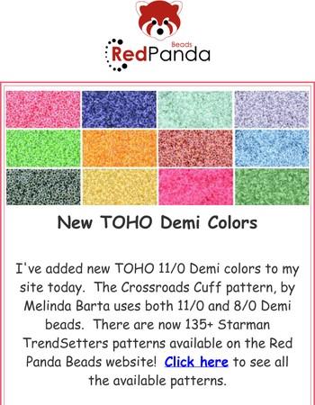 New Crossroads Cuff Colorways