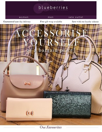 Handbag SALE - EXTRA 10% off with the code EX10
