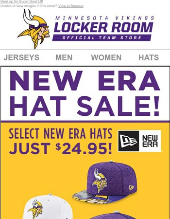 Hats Off to This New Era Sale!
