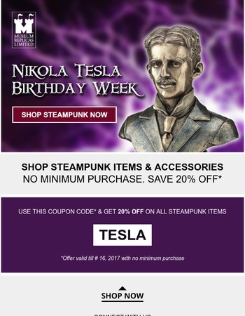 The Steampunk sale is coming to a close!