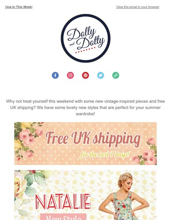 Dolly and Dotty Newsletter