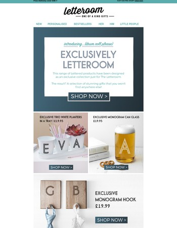 Exclusively Letteroom