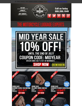 Mid Year Sale - See How Much You Can Save!
